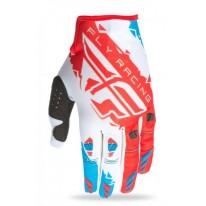 FLY KINETIC GLOVE RED WHITE BLUE