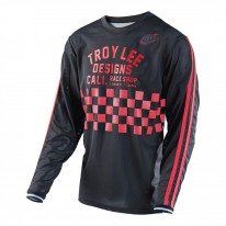 2017 TROY LEE DESIGNS SUPER RETRO JERSEY RED