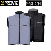 SWITCH GILET (VEST) - BLACK / REFLECT360 - PROVIZ