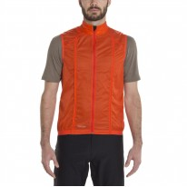 GIRO M WIND VEST GLOWING RED