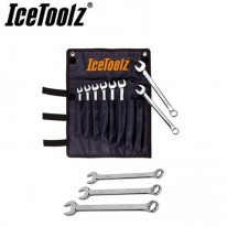 DUAL OPEN END SPANNER SET - 8 TO 15MM - ICETOOLZ