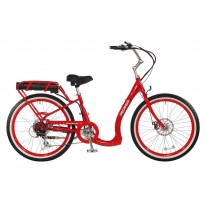 PEDEGO BOOMERANG ELECTRIC BIKE RED