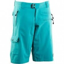 RACE FACE KHYBER WOMEN'S SHORTS TURQUOISE