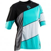 RACE FACE WOMEN'S KHYBER JERSEY TURQUOISE