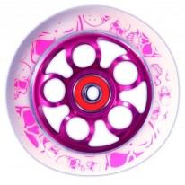 MGP 100MM ALLOY CORE WHEEL PINK