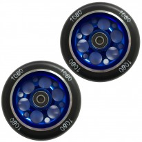 100MM ALLOY CORE WHEEL BLUE