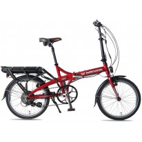 SMART MOTION ELECTRIC BIKE E20 RED 10.4AH