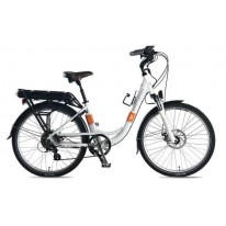 SMART MOTION ELECTRIC BIKE ECITY WHITE 15.6AH