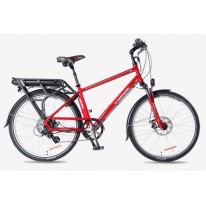 SMART MOTION ELECTRIC BIKE EURBAN 300 RED 21AH