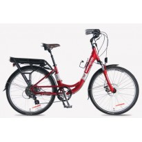 SMART MOTION ELECTRIC BIKE ECITY RED 15.6AH