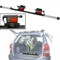 IN CAR ADJUSTABLE BIKE CARRIER - (CARRY UP TO 2)