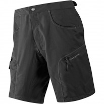 WOMENS ASCENT BAGGY SHORTS BLACK
