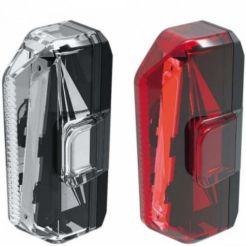 TOPEAK WHITELITE FRONT & REDLITE REAR LIGHT SET