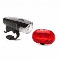 PDW SPACESHIP 3 FRONT & RED PLANET REAR LIGHT SET