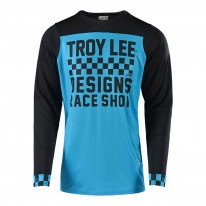2018 TROY LEE DESIGNS SKYLINE CHECKER LONG SLEEVED JERSEY