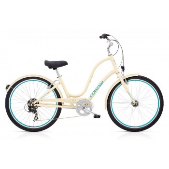 2018 ELECTRA LADIES TOWNIE ORIGINAL 7D EQ CREAM