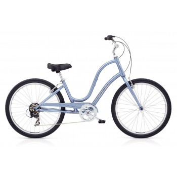 2018 ELECTRA LADIES TOWNIE ORIGINAL 7D 24 ICY BLUE