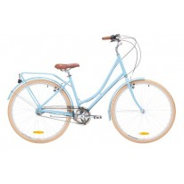 REID LADIES VINTAGE DELUXE 3 SPEED  - BABY BLUE