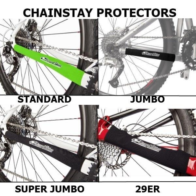 CHAINSTAY PROTECTORS - NEOPRENE - 5 SIZES & 4 COLO