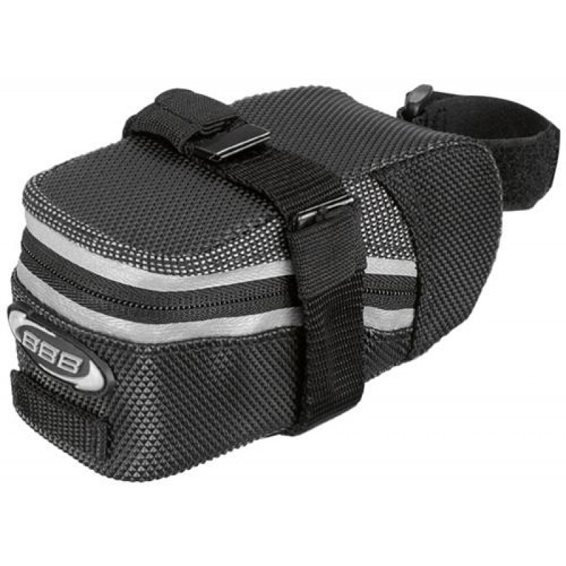 Black Size:XS BBB EASYPACK  Bicycle Bike Saddle Bag