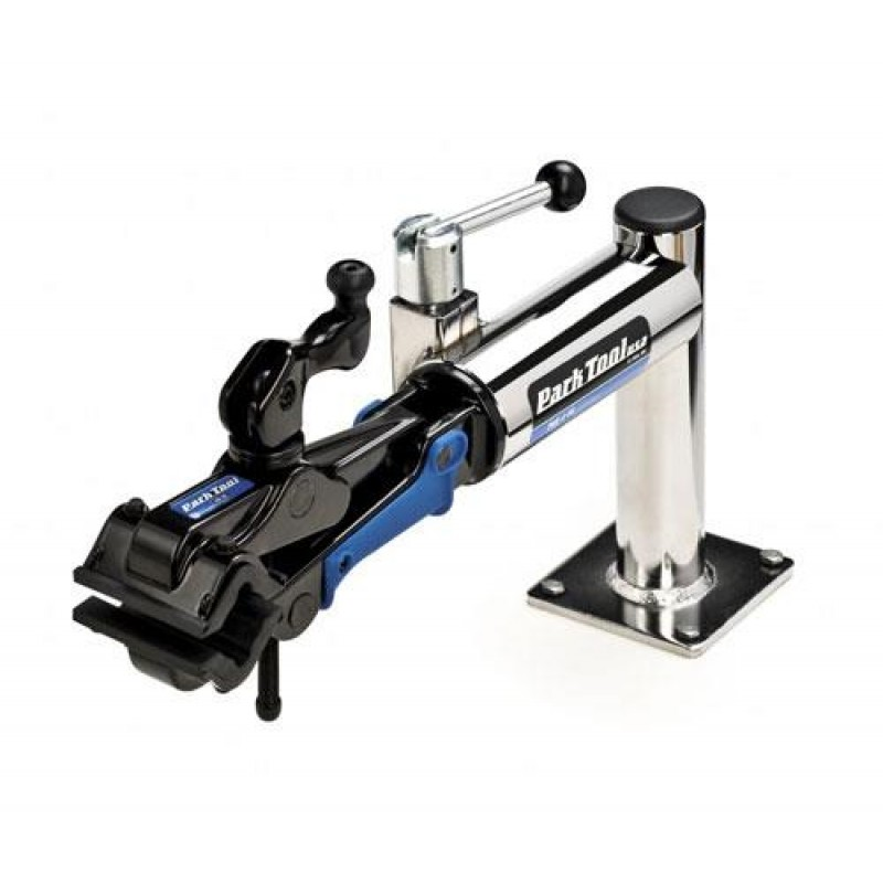 Park Tool PRS-7-1 Bench Mount Bicycle Repair Stand and 100-5C Clamp Single