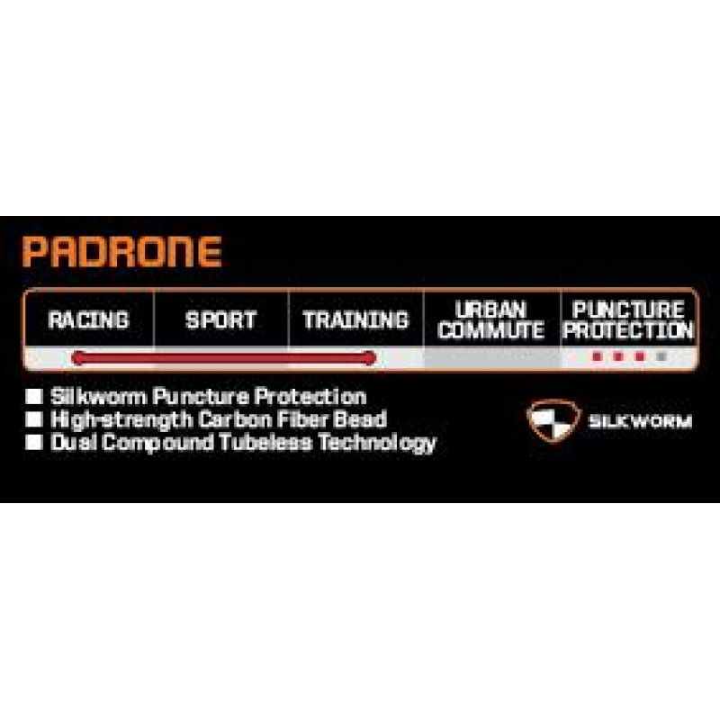Maxxis Padrone 700c Tubeless Road Tyre