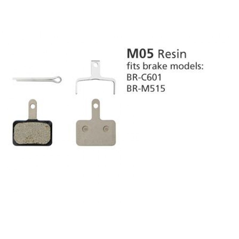 Shimano BR-M515 M05 Resin Disc Brake Pads 1pr