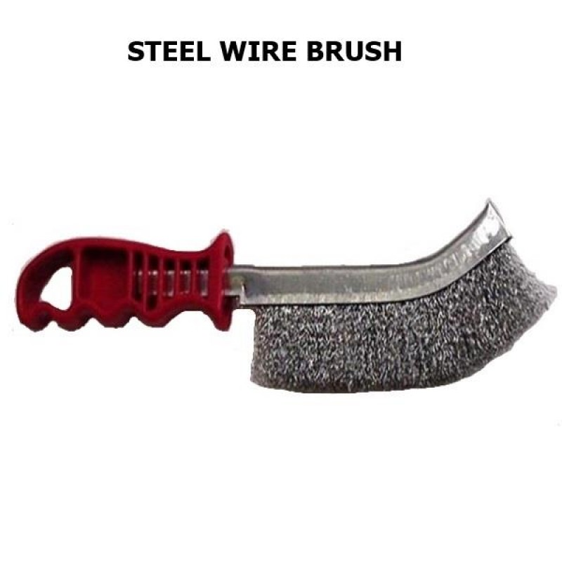 Wire Brush Splayed Steel