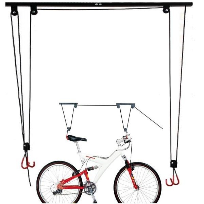 CEILING MOUNTED BIKE STAND