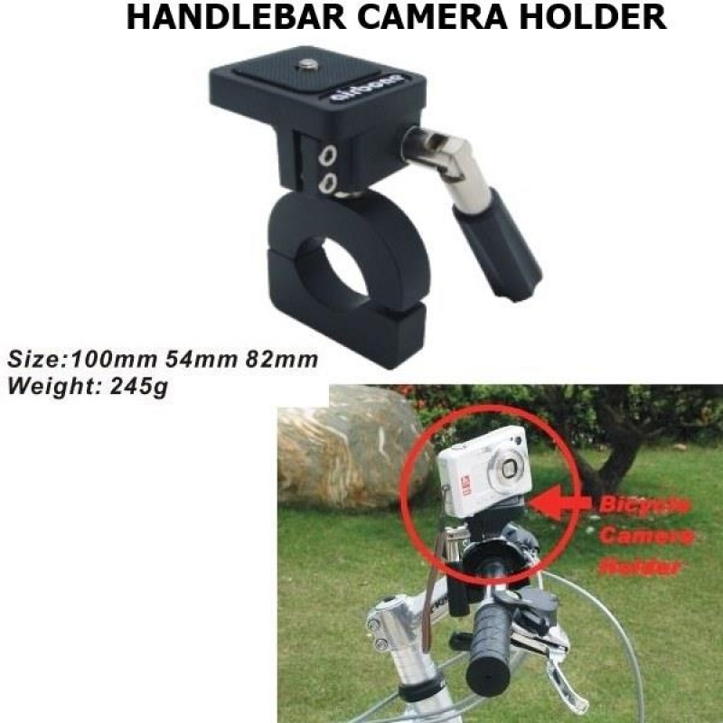BIKE CAMERA HOLDER - HANDLEBAR MOUNT