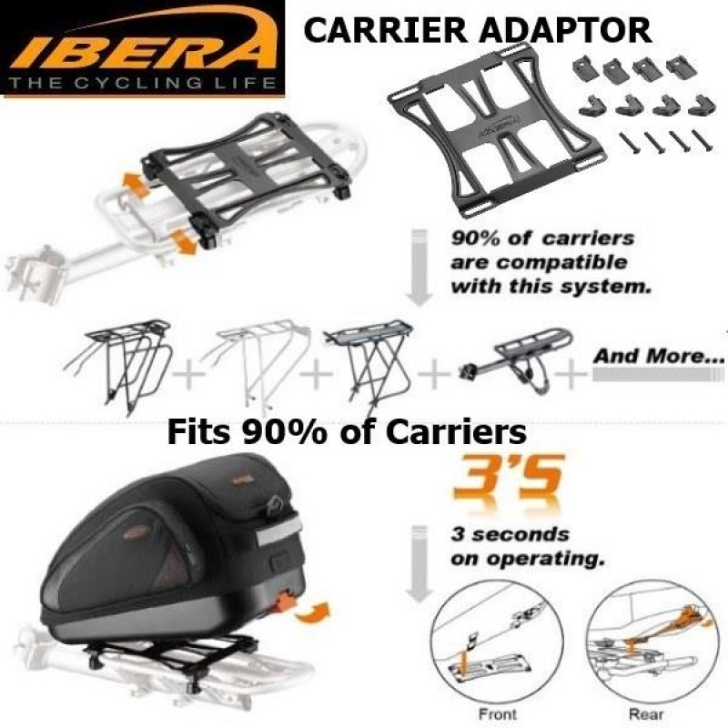 Rear Bike Carrier - Bor Yueh Adjustable Alloy with