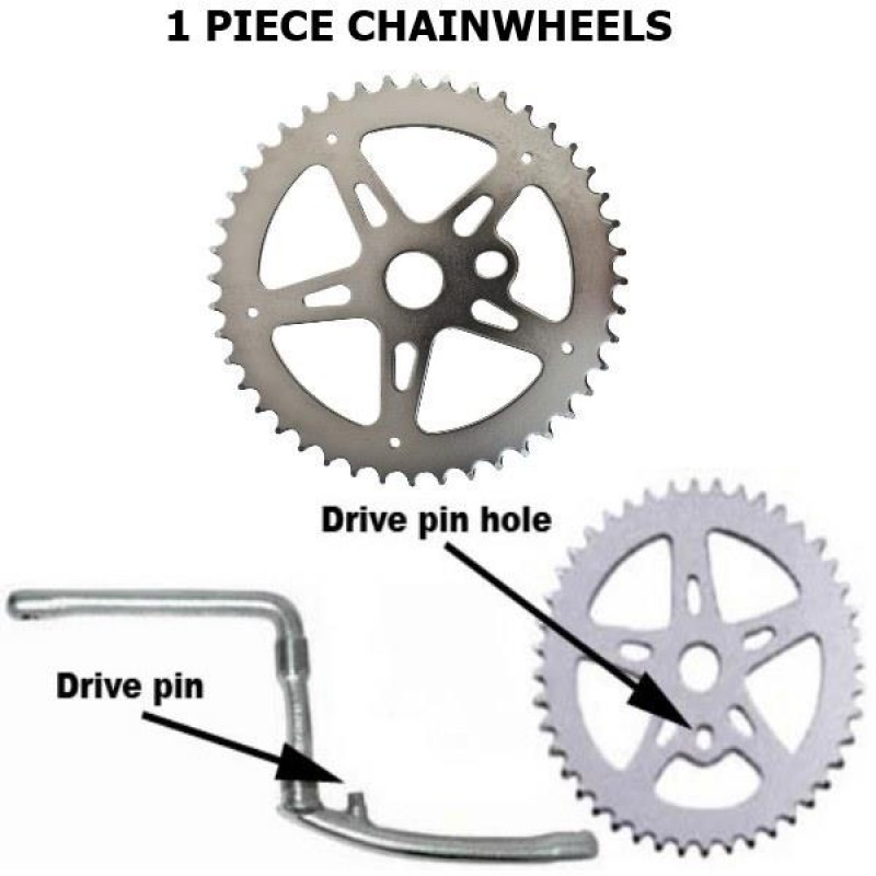 1 Piece Chainwheels / Cup Sets