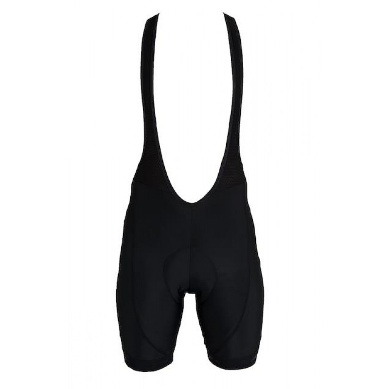 Halcyon Trainer Bibshorts Mens & Womens Black