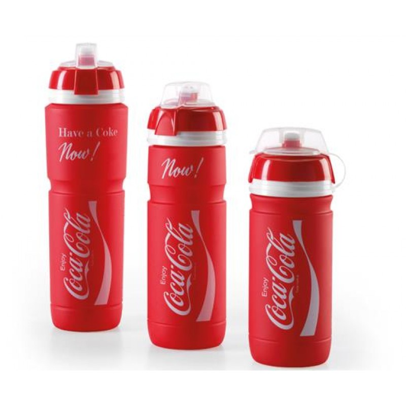 White Red New Elite Corsa Coca Cola Cycling Water Bottle 550 ml