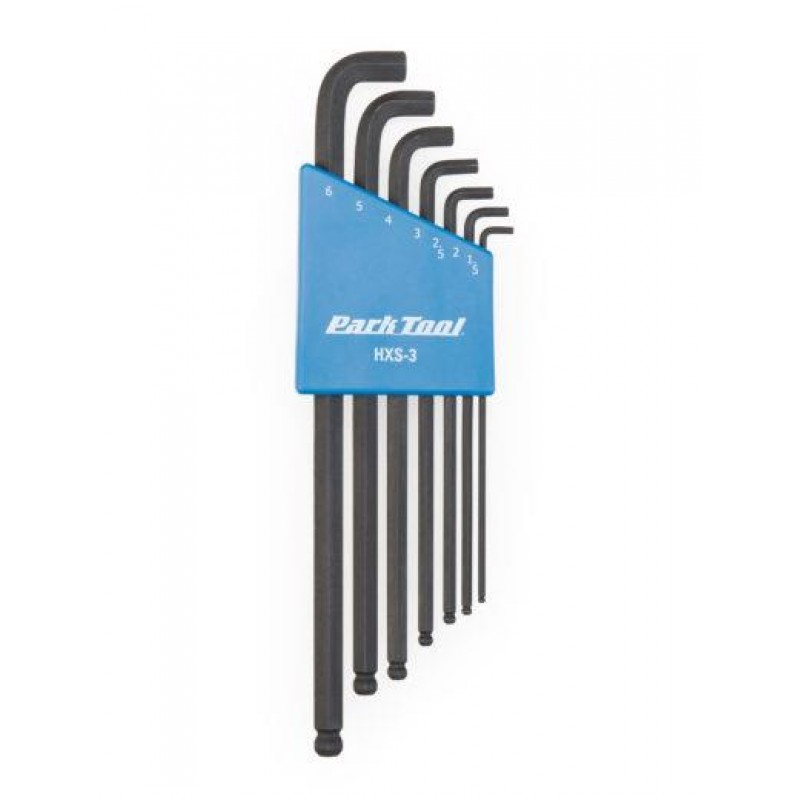Park Tool Stubby Hex Wrench Set - HXS-3