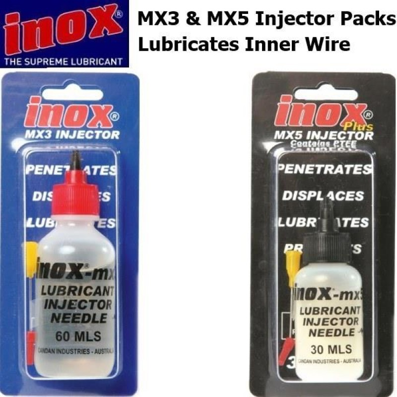 Inox Cable Lubrication with Injector Needles