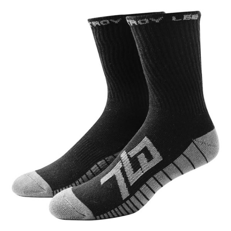 TROY LEE DESIGNS FACT CREW SOCKS BLACK