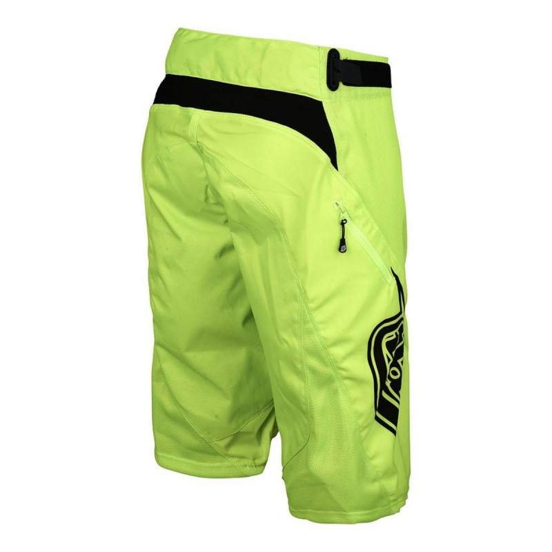 TROY LEE DESIGNS SPRINT SHORT FLO YELLOW