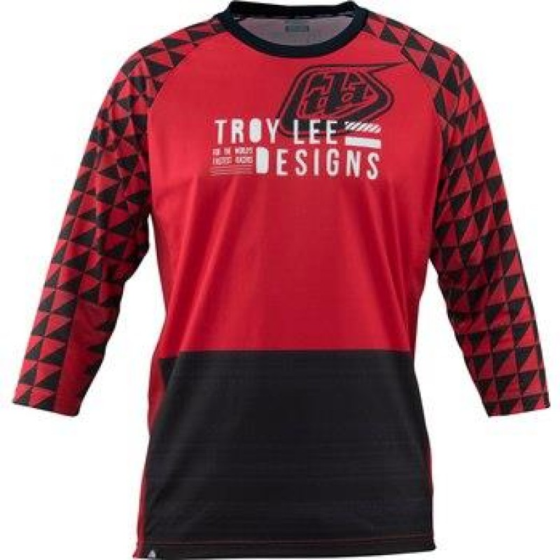 TROY LEE DESIGNS RUCKUS JERSEY FORMATION RED