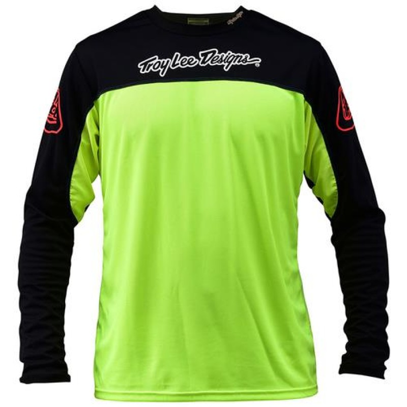 TROY LEE DESIGNS SPRINT JERSEY FLO YELLOW