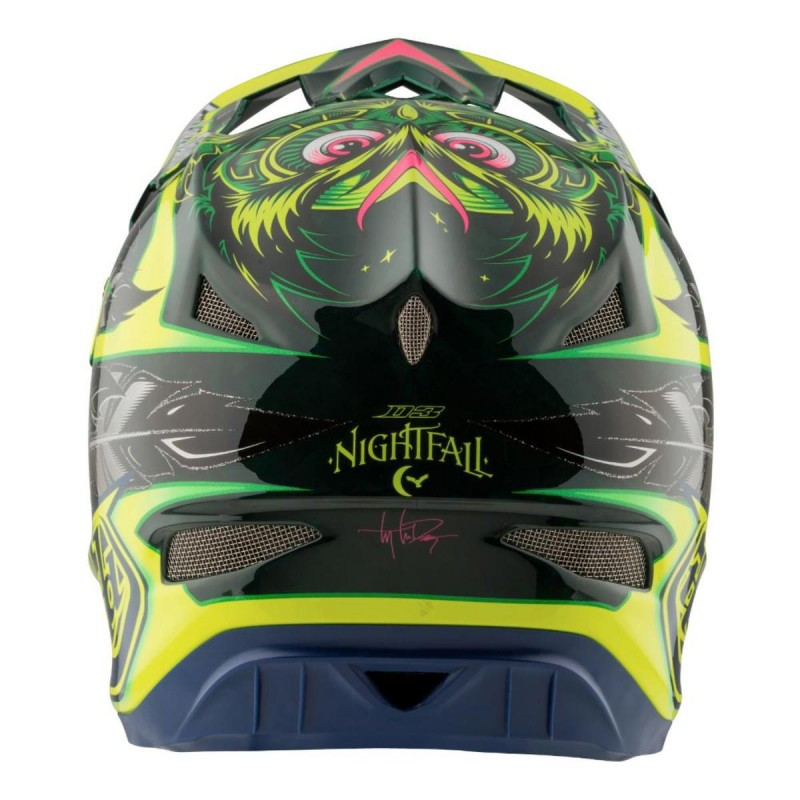 TROY LEE DESIGNS D3 AS CARBON MIPS NIGHTFALL