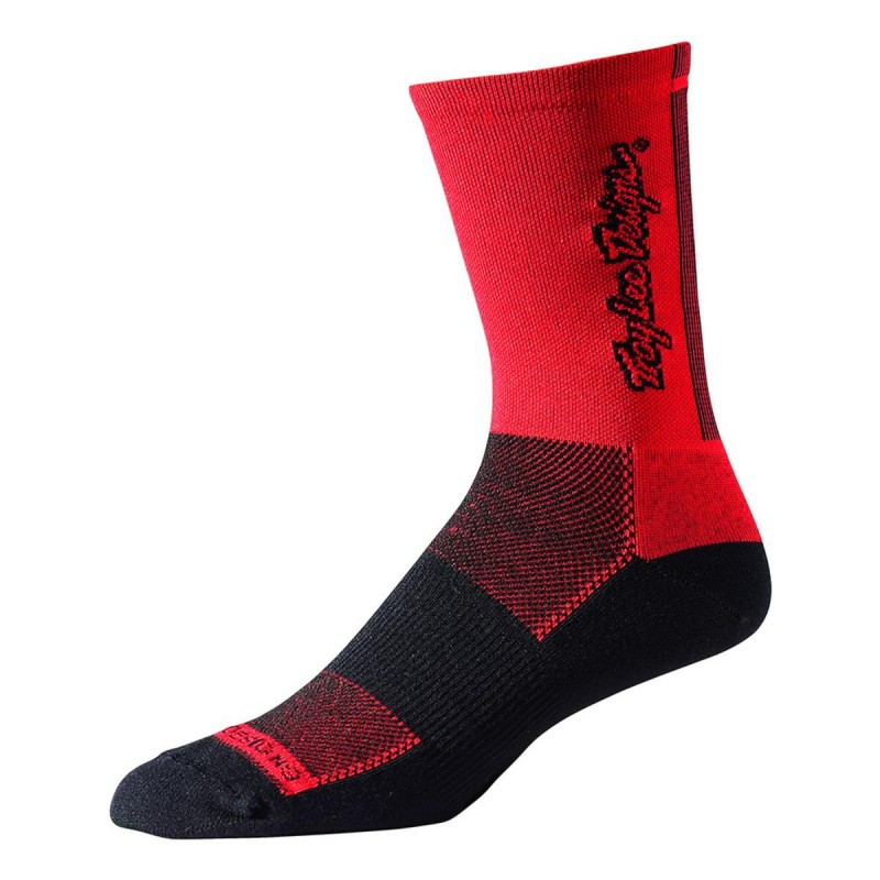 Troy Lee Designs Ace Perf Crew Sock Classic Red