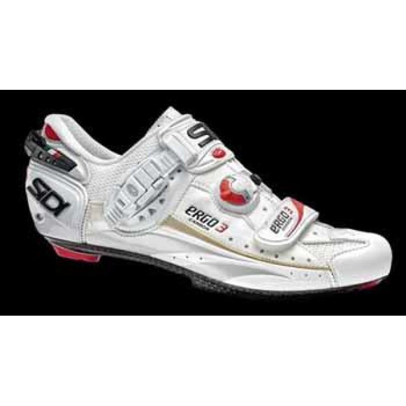 Sidi Ergo3 Carbon Road Shoe - White