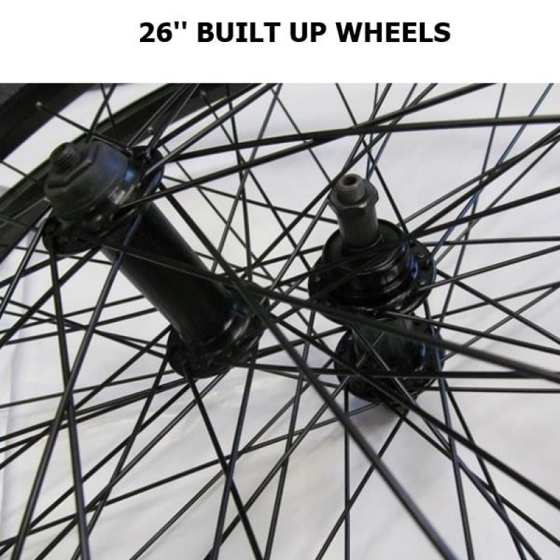 26 inch MTB- Built Up Wheels - 9 Options