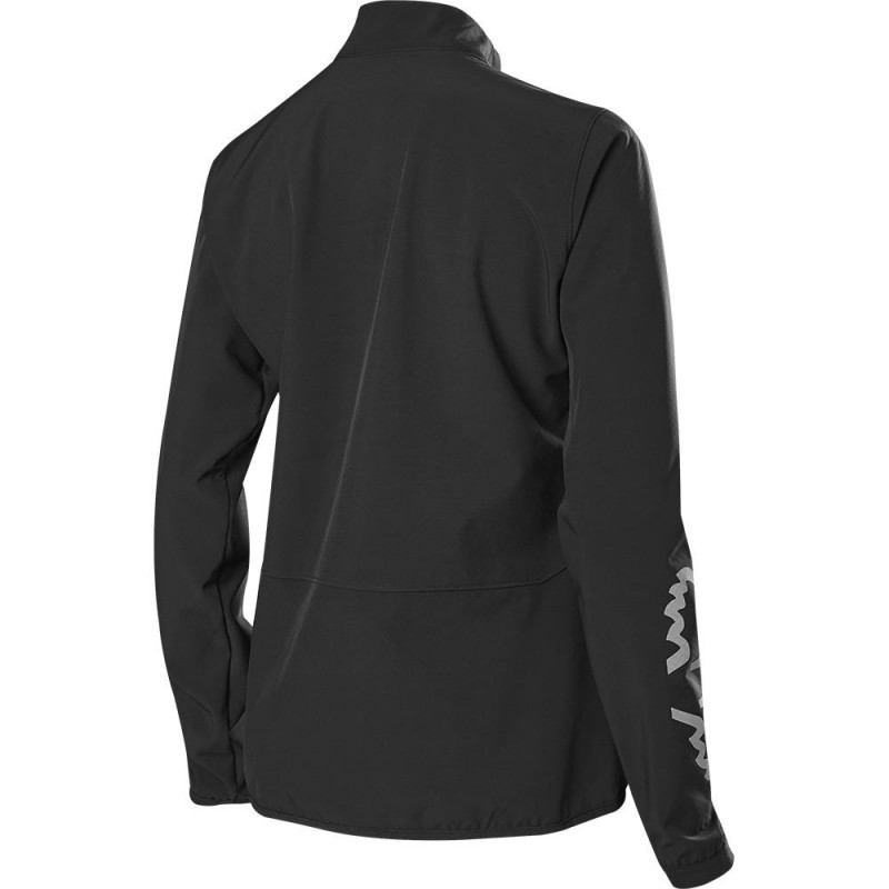 Fox Women's Ranger Fire MTB Jacket Black