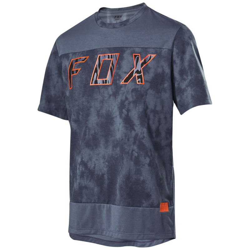 Fox Men's Ranger Dr Elevated SS Jersey Blue Steel