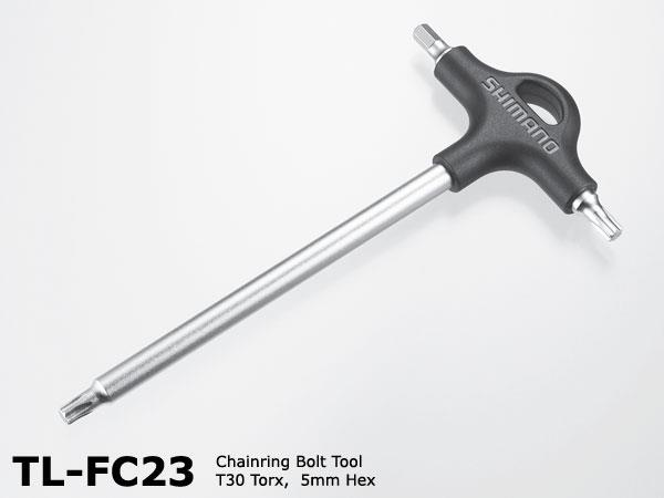 Shimano TL-FC23 Chainring Tool Torx T-30 + Hex 5mm