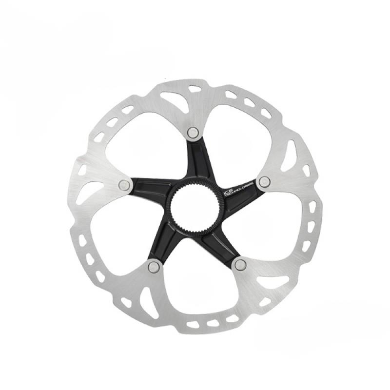 SHIMANO DEORE XT SM-RT81 DISC ROTOR ICE C/LOCK