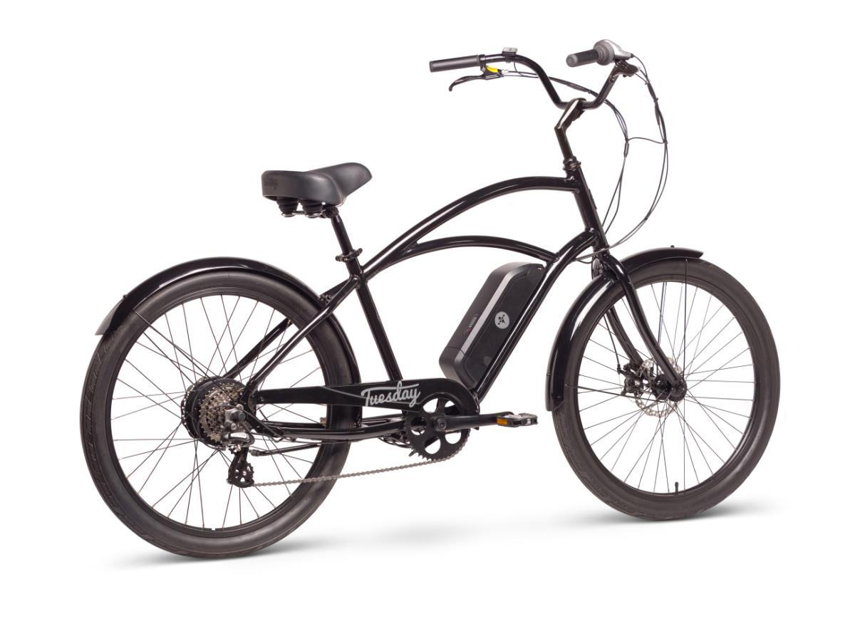 Tuesday Men's August Live Electric Bike Black