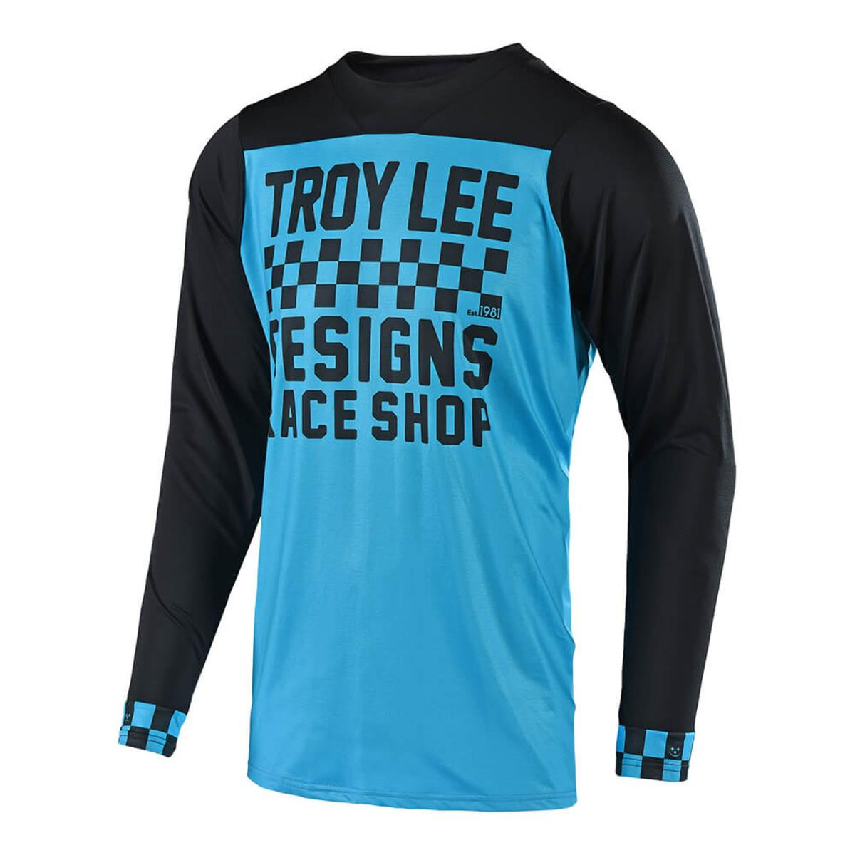 2018 TROY LEE DESIGNS SKYLINE CHECKER LONG SLEEVED